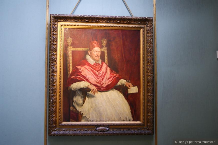 """Диего Веласкес """"Портрет Папы Иннокентия X""""."""