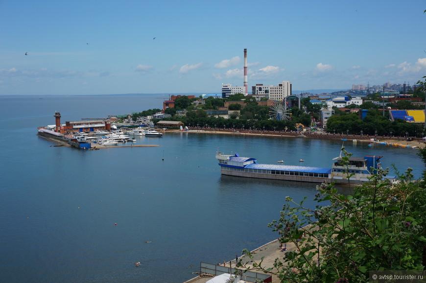 Вид на Спортивную гавань