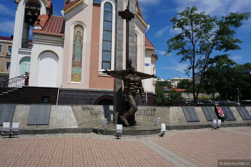 Памятник солдатам правопорядка.