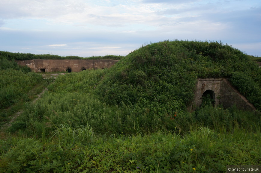 Оборонительные сооружения на острове Русский много лет стояли на защите Владивостока