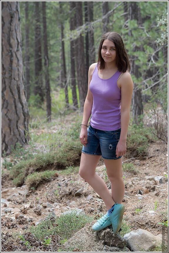 Детка в горах Троодос.