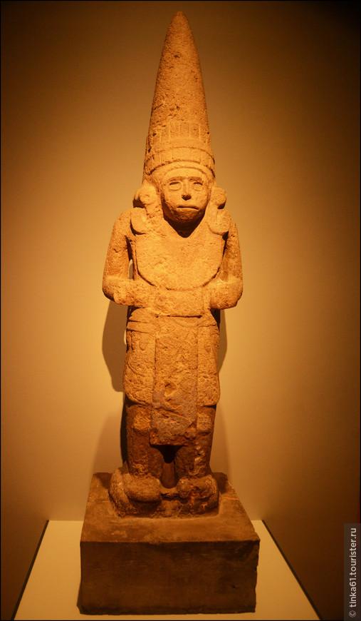 Божество, олицетворяющее ветер в культуре народности Уастека. 1200 год до новой эры.