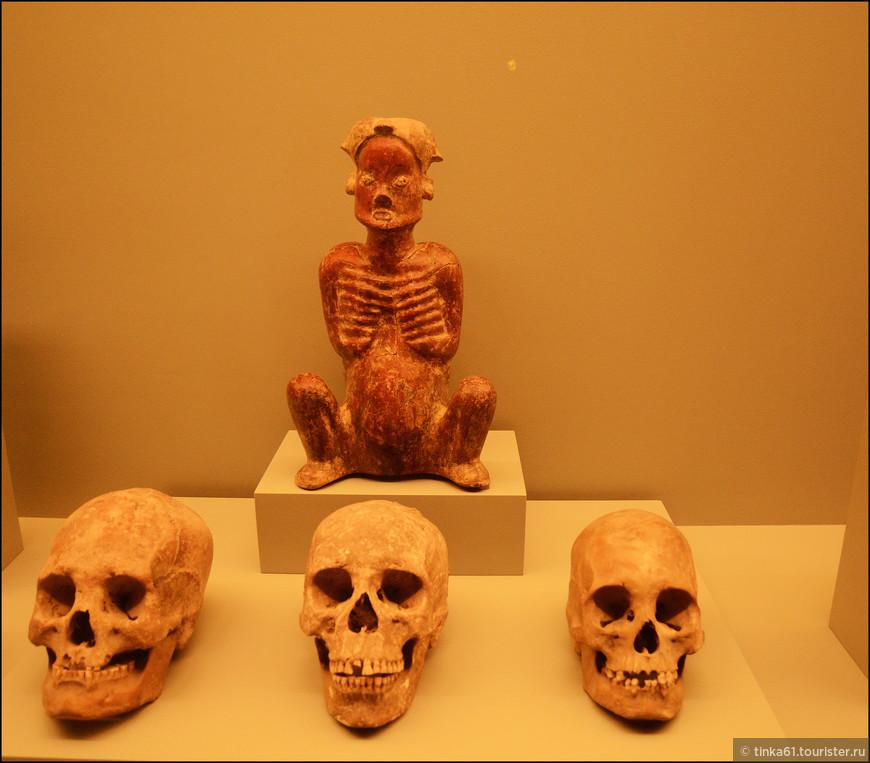 Культ смерти пришёл в Мексику из доколумбовых цивилизаций.