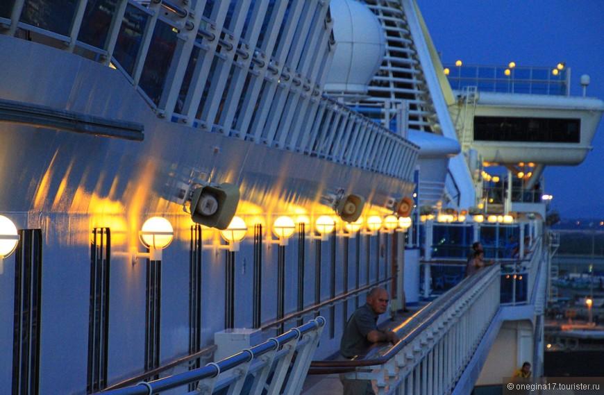 """""""Принцесса"""" - огромный корабль! Его не обойти за целый день, если решишь побывать во всех местах, открытых для гостей корабля."""