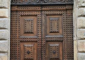 Флоренция. Via Cavour и Santa-Maria-del-Fiore