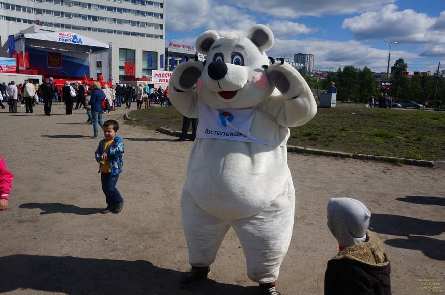 А по Мурманску всё так же ходят белые медведи...