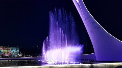 2016 06 12 Цветомузыкальный фонтан в Олимпийском парке. ч2, 01:16