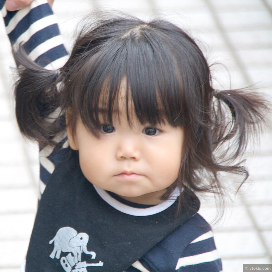 Туристы без ума от японских деток.