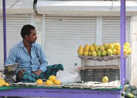 На шумных улицах Дели