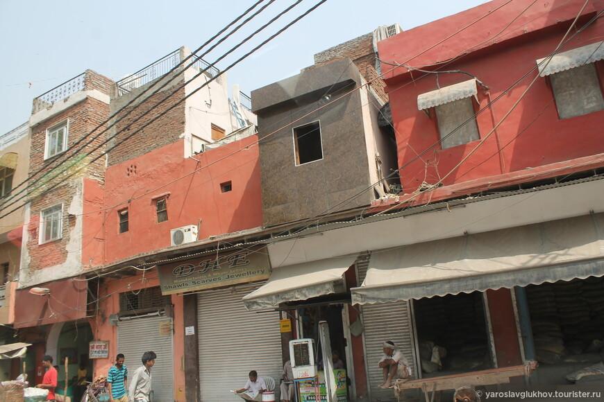 На улицах Старого Дели.