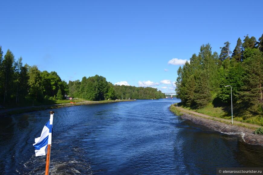 Всегда интересно - что там за поворотом. Финская часть канала в основном рукотворная, а российская - природная, поэтому, пожалуй более интересная.