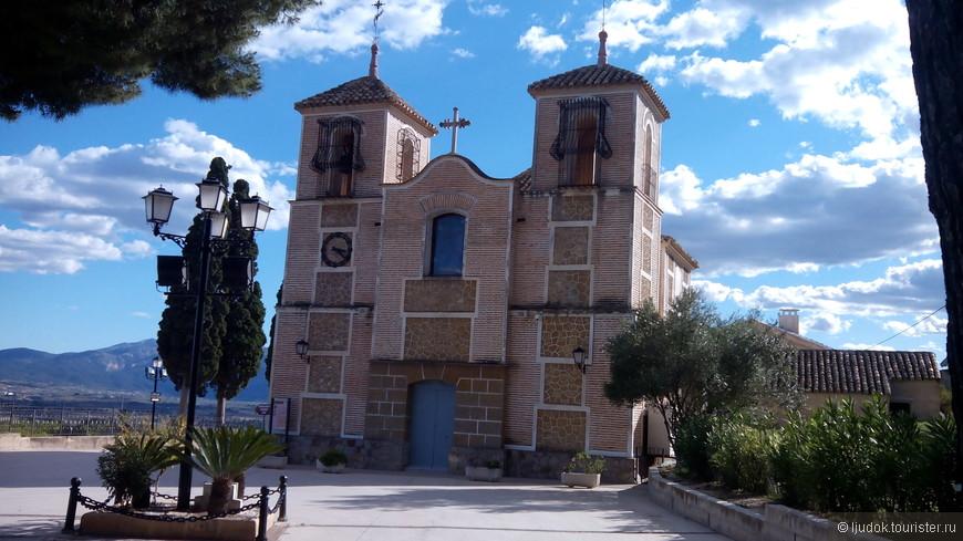 Церковь в парке Рехиональ Сьерра Эспунья