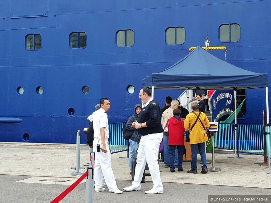 Среди членов экипажа были очень колоритные фигуры.