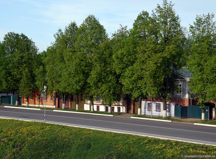 Улицы Суздаля
