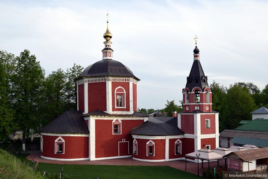 Успенская церковь, XVII век