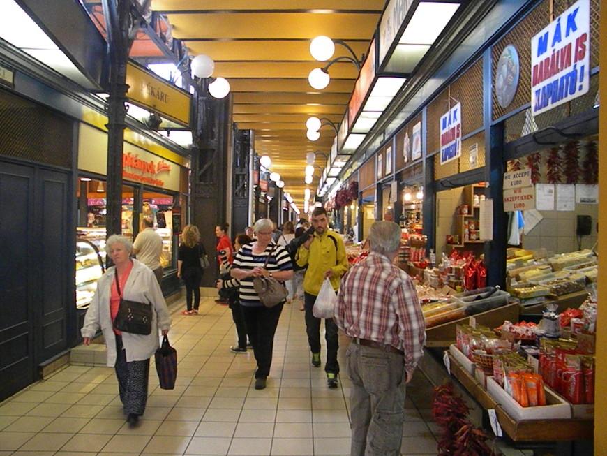 Рынок в Будапеште это нечто
