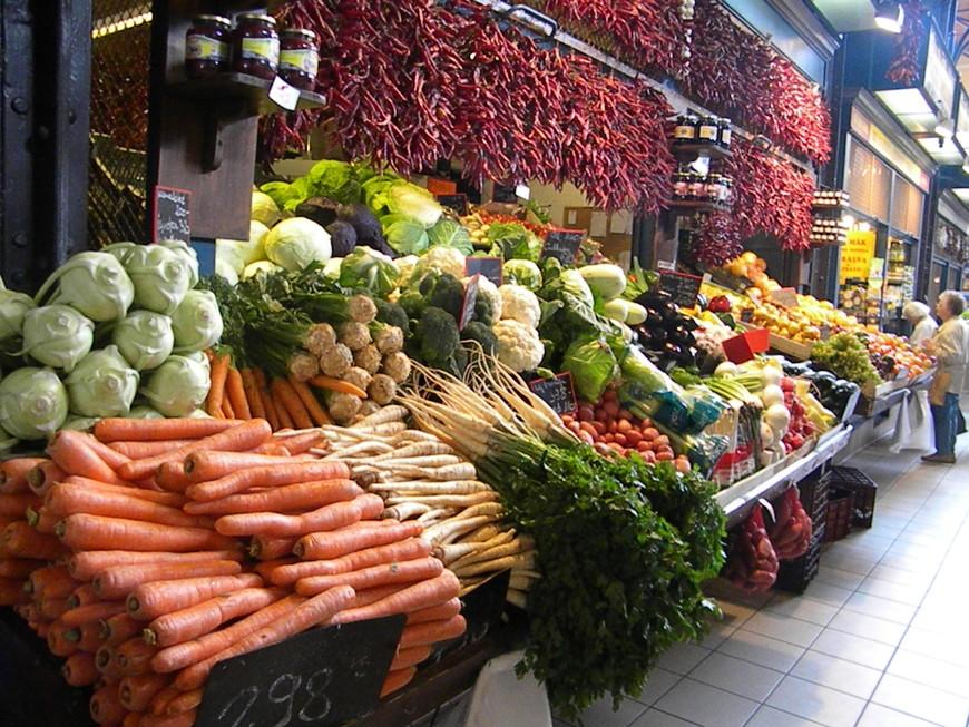 Овощи, выложены как на картинке