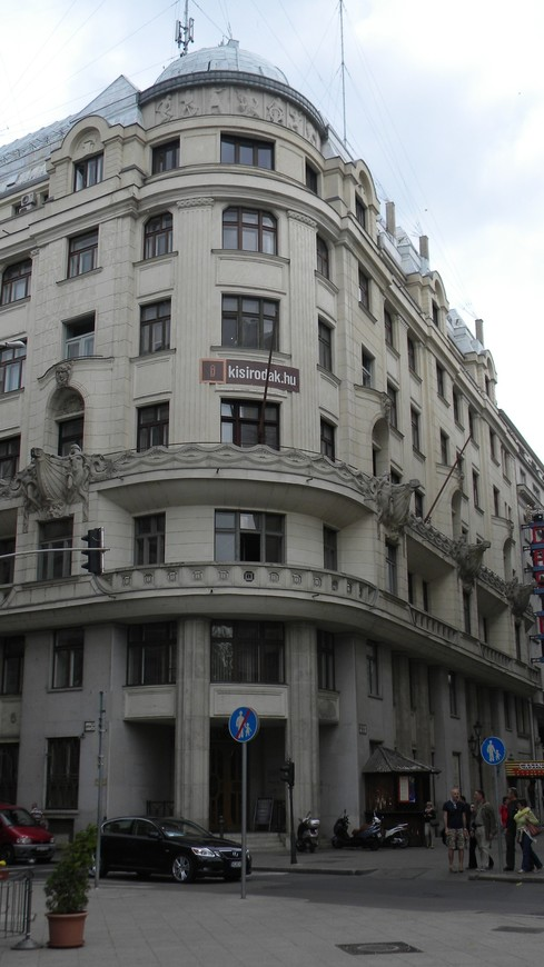 Улочки Будапешта