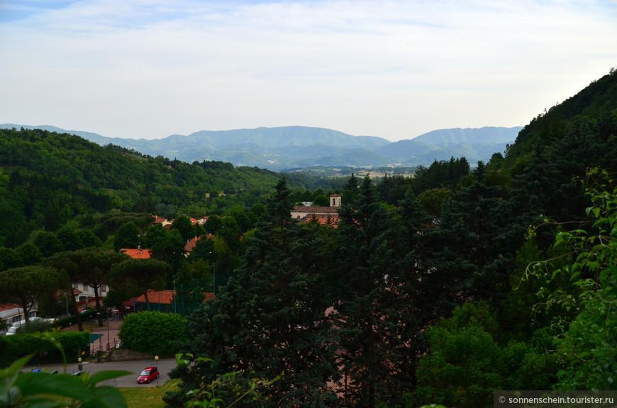 Тосканский городок Ронта.