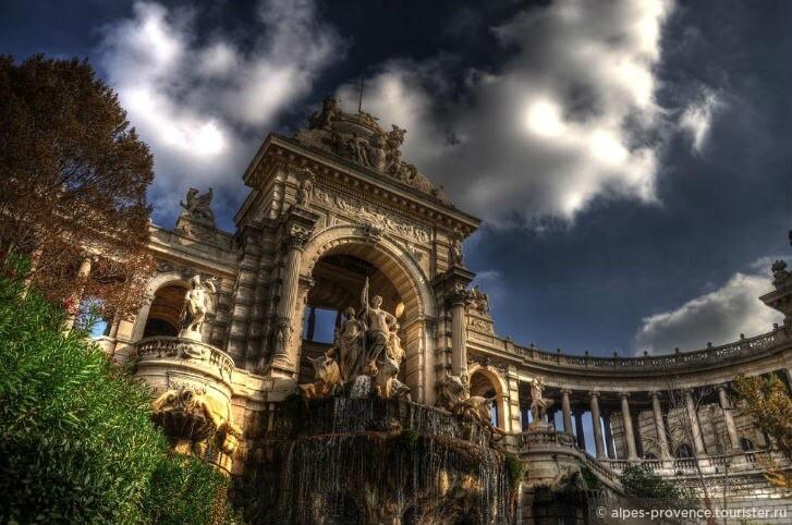 Парк Лонгшам. Марсель. Франция.