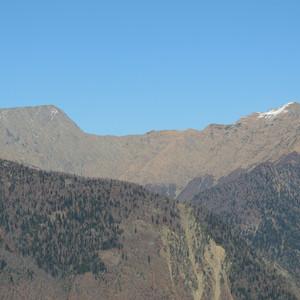 Кавказ. Красная Поляна поздней осенью
