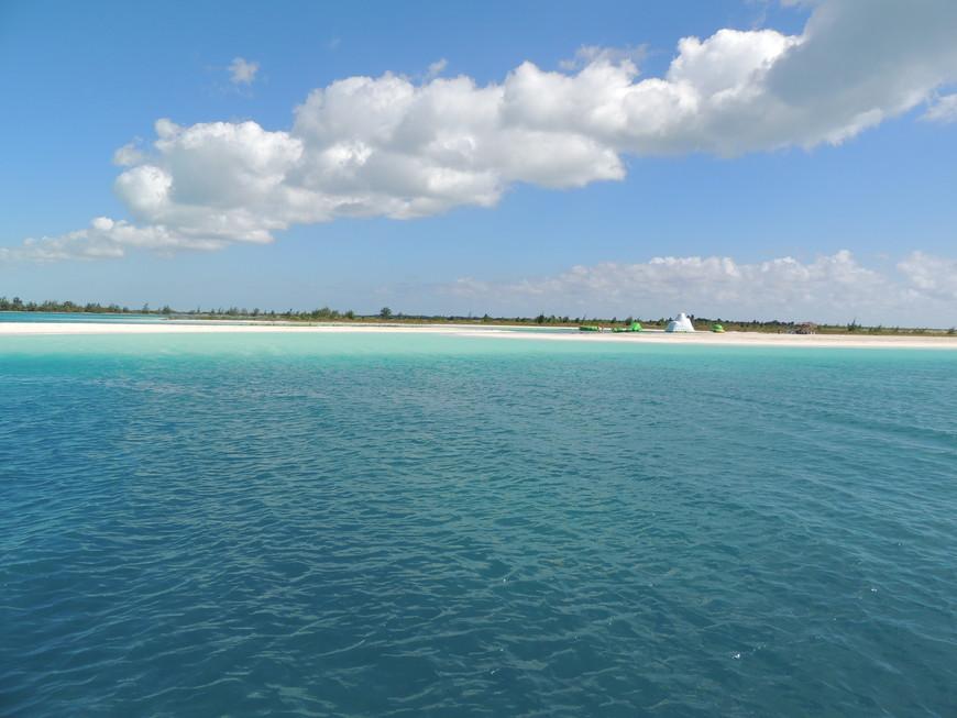 по пути на Остров Кайо-Ларго
