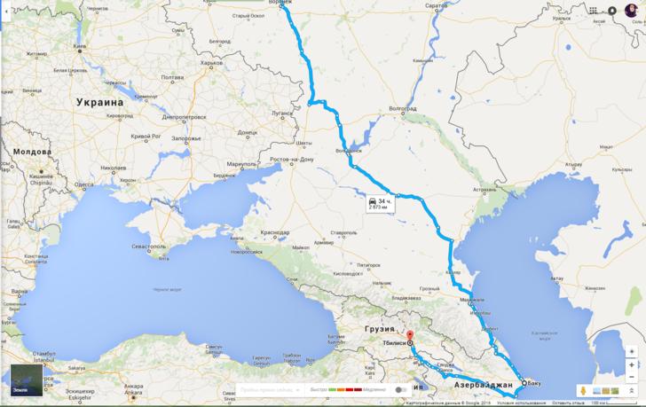 Как доехать в Грузию из России и обратно