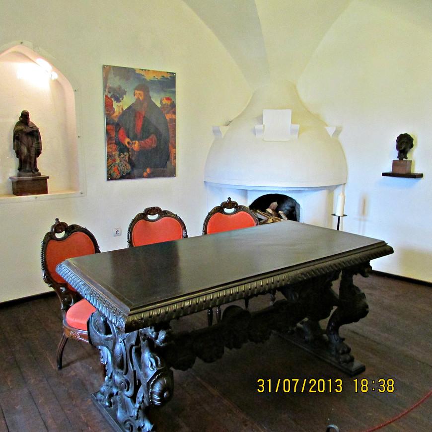Комната кастелянов.