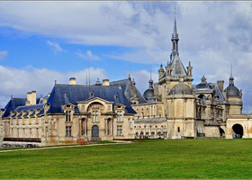 Château de Chantilly. Блистательный замок-музей