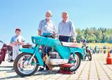 Фестиваль старинных мотоциклов.