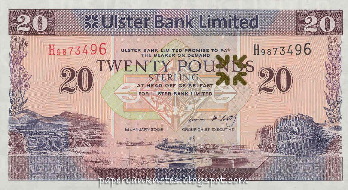 Деньги северной ирландии пятихатка что означает