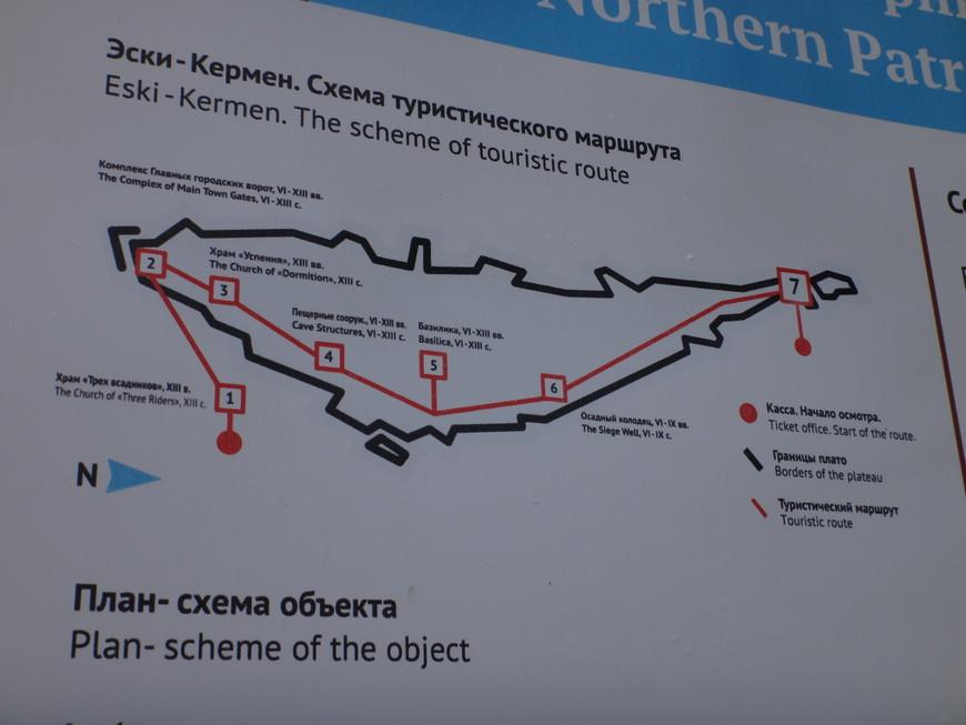 Схема Эски -Кармен.