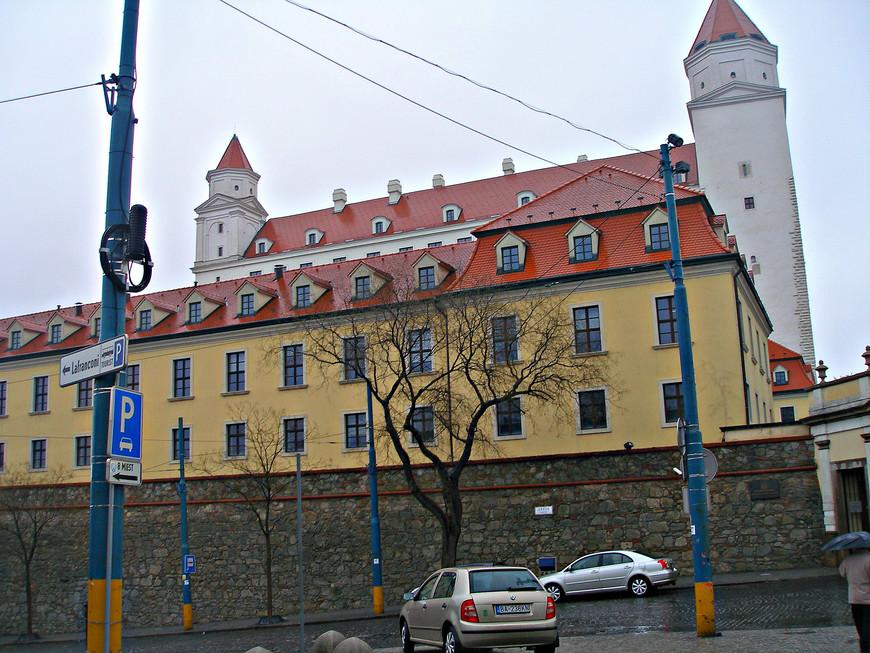 Братиславский замок.