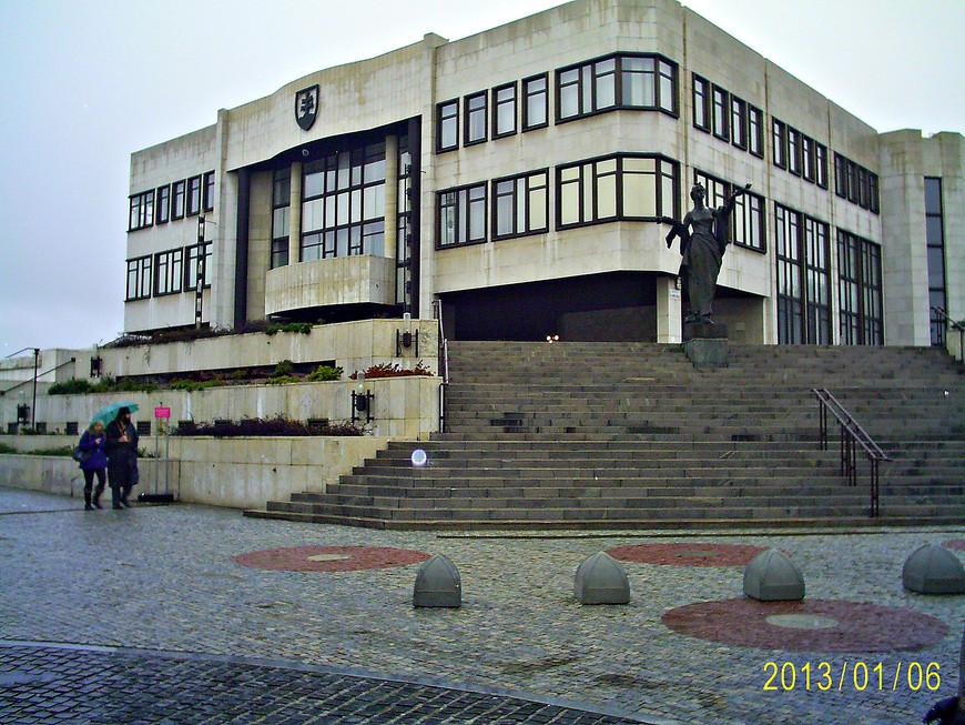 Словацкий парламент.