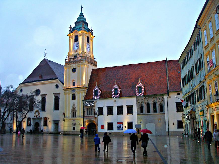 Старая ратуша.