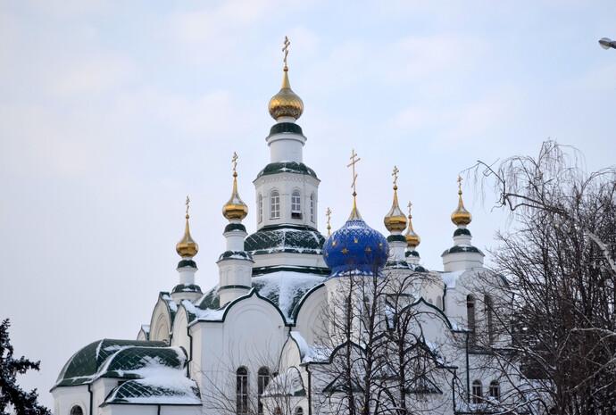 Свято-Никольский кафедральный собор в Армавире.