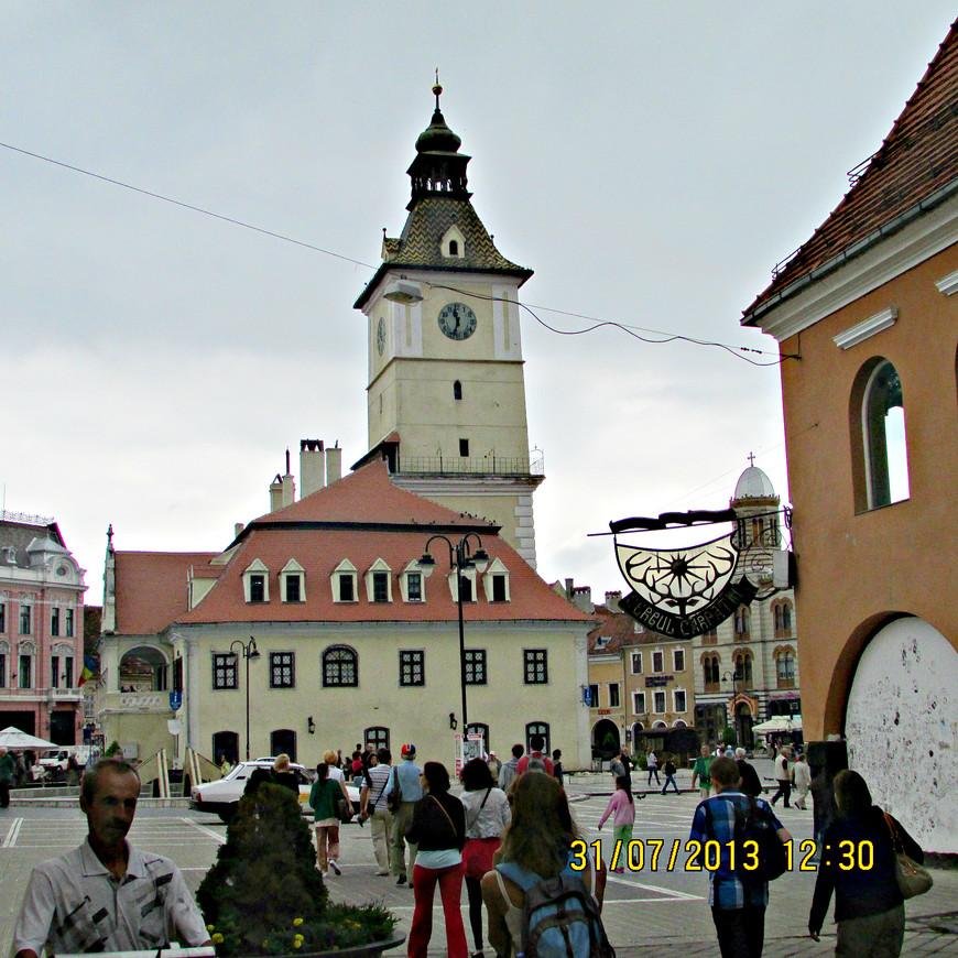 Средневековая ратуша. Сейчас здесь размещается исторический музей.