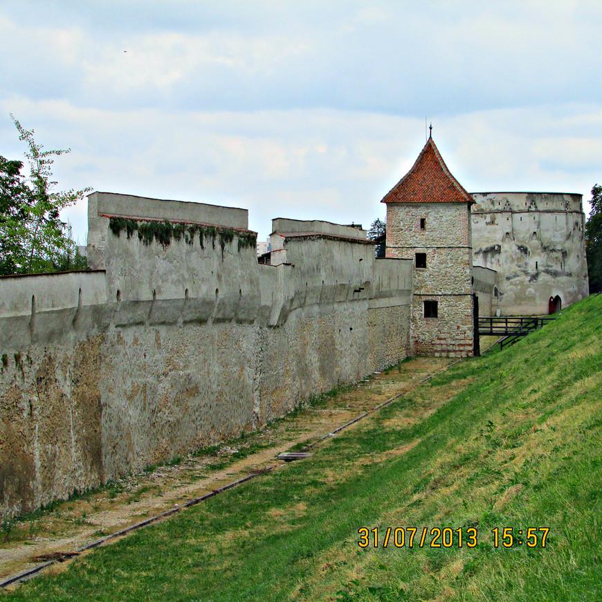Городская крепость.