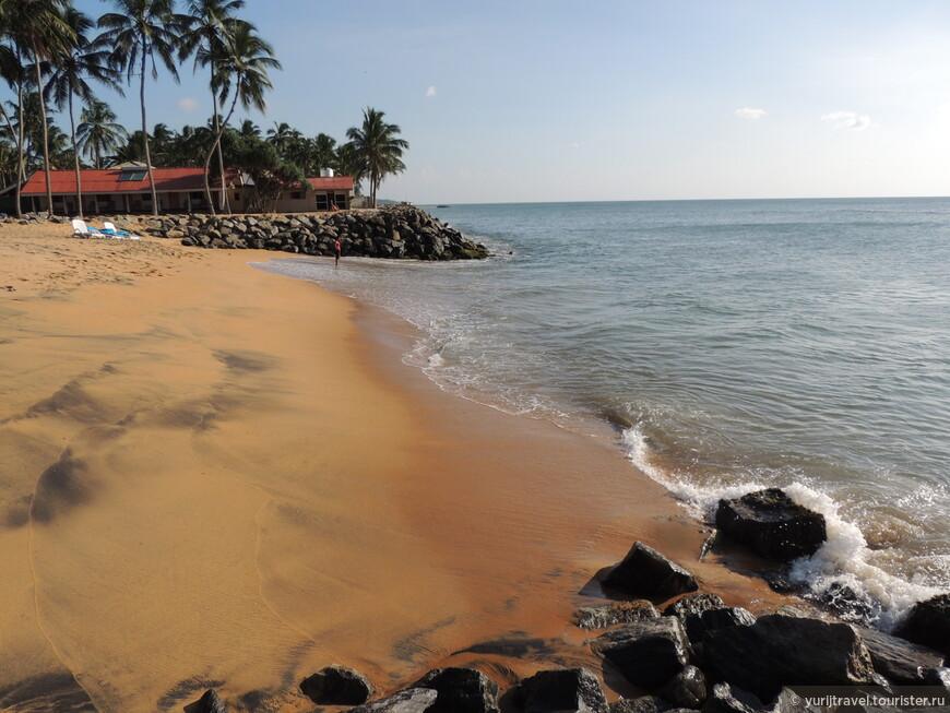 Пляж в отеле Cozy beach