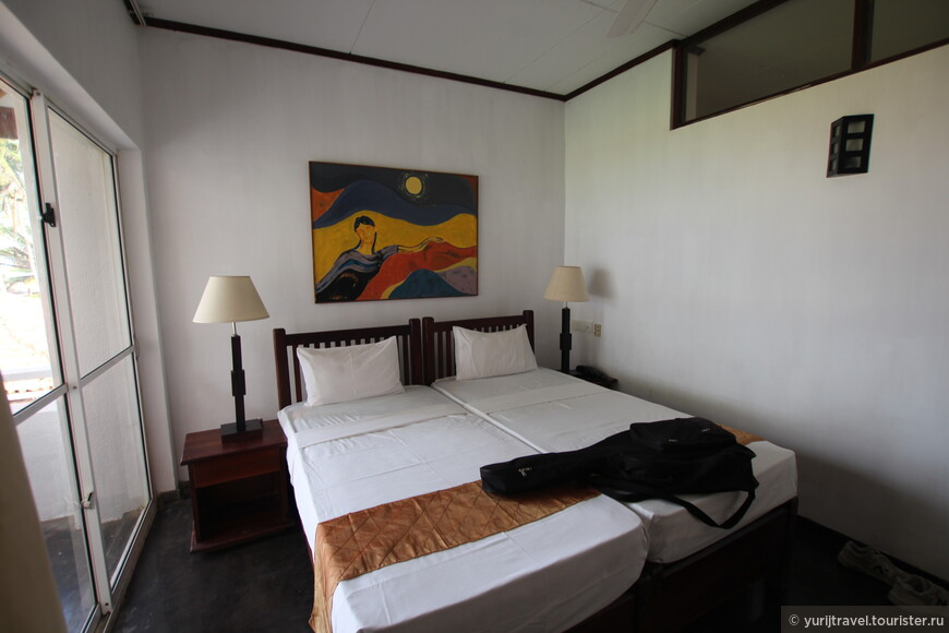 Комната в отеле Sanmali beach hotel