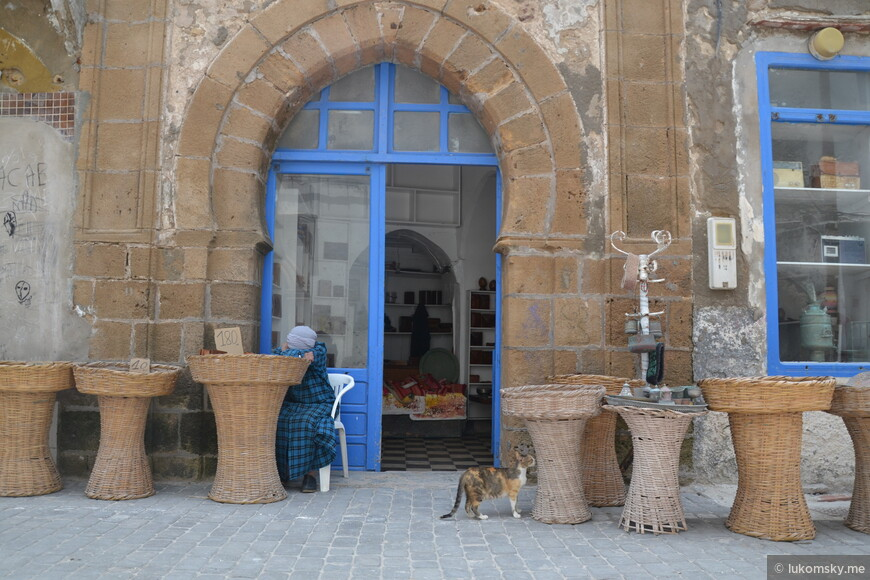 Эс-Сувейра, старый город