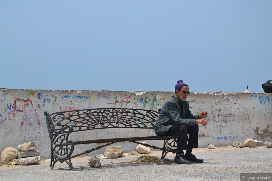 Эс-Сувейра, старый город, Местный хипстер