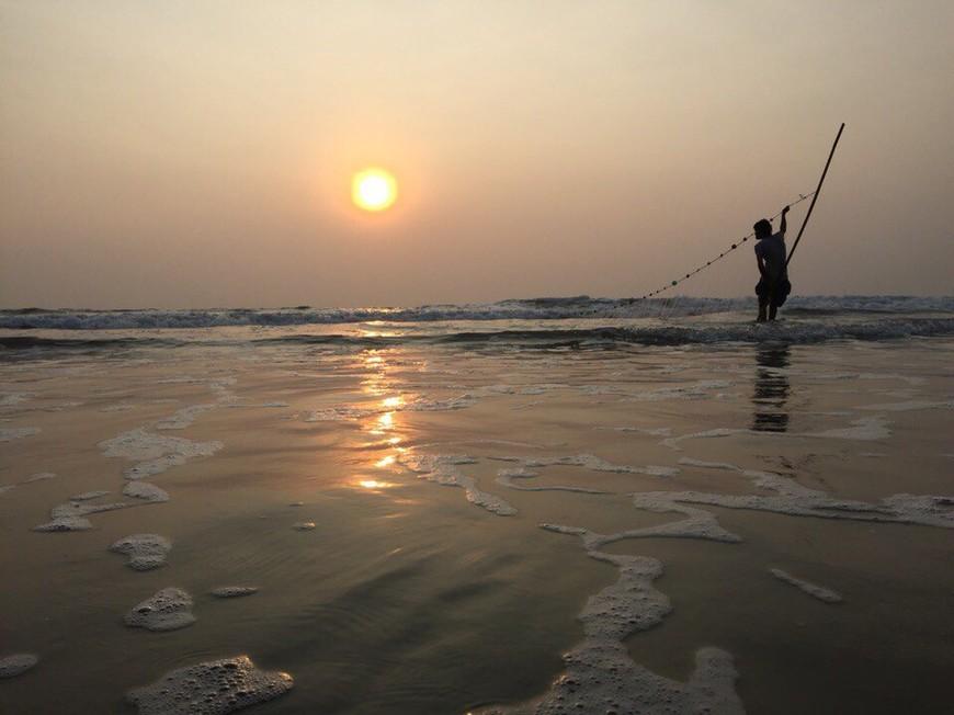 Пляж Морджим. Гоа.