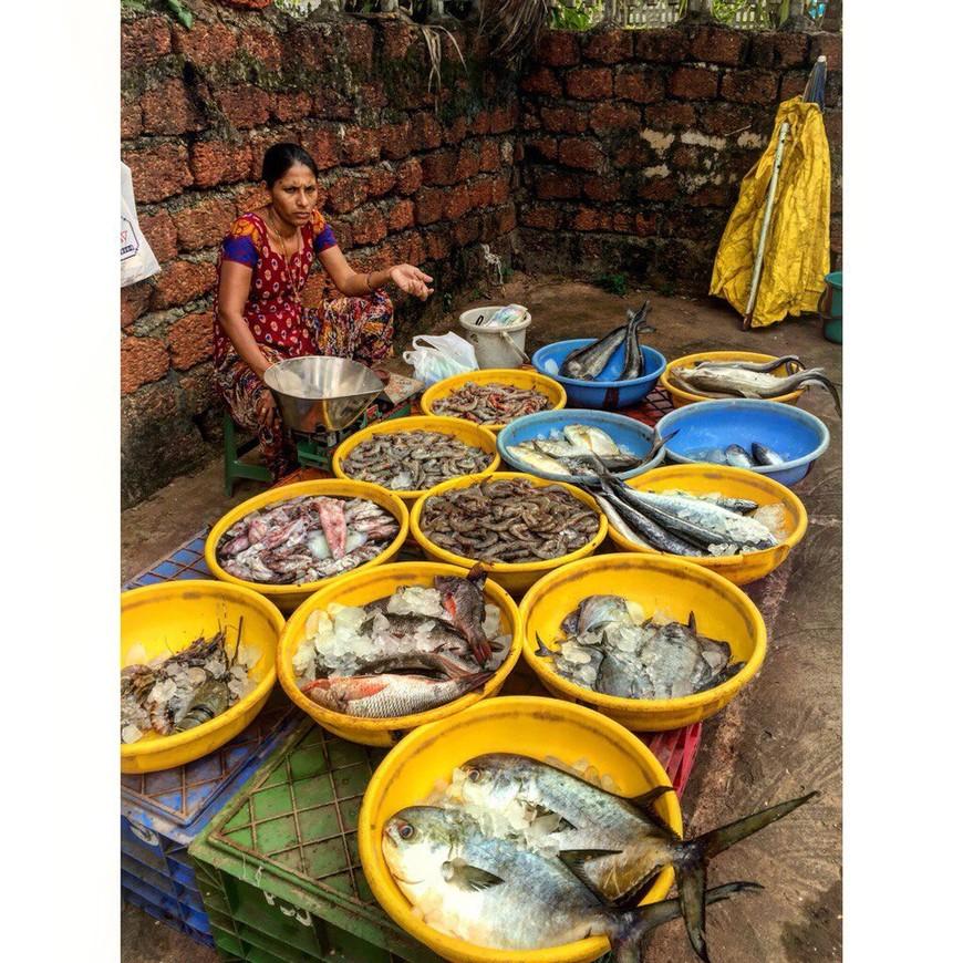 Мапса. Рыбный рынок.