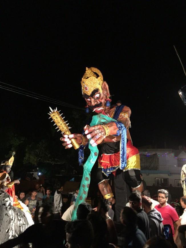 Фестиваль  Дивали. Гоа