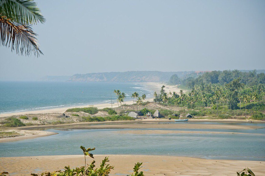 Керим - это самый северный пляж Гоа