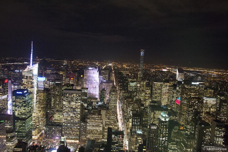 Смотровая площадка  Empire State Building