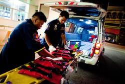 В Таиланде туристический автобус столкнулся с грузовиком: 16 раненых