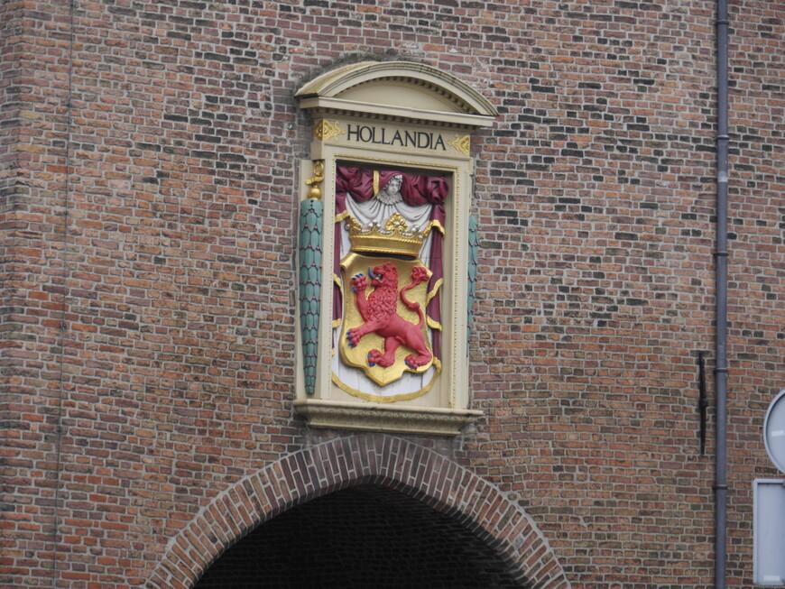 Вот этот лев похож на герб северной Голландии, но более точно утверждать не берусь...
