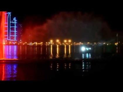 Фонтаны Шарджи +Лазерное шоу  часть3, 09:55
